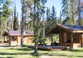 cabins on Anahim Lake, BC