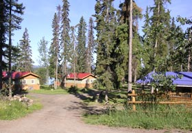 rental cabins on Anahim Lake, BC